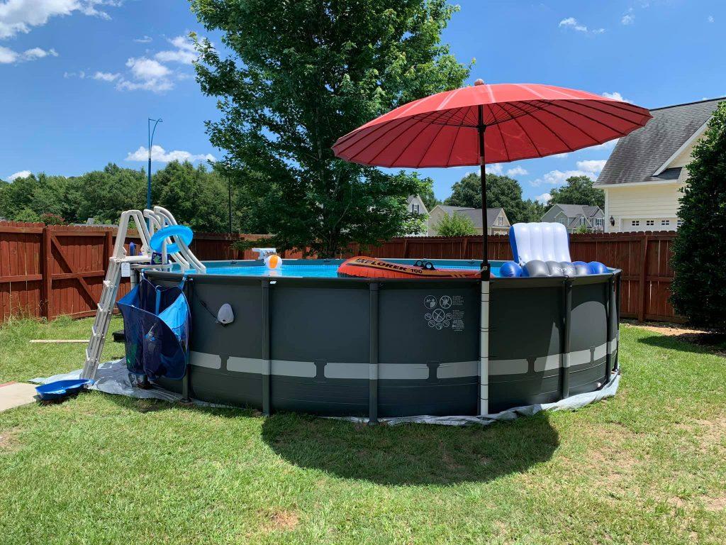 intex ultra frame pool sizes