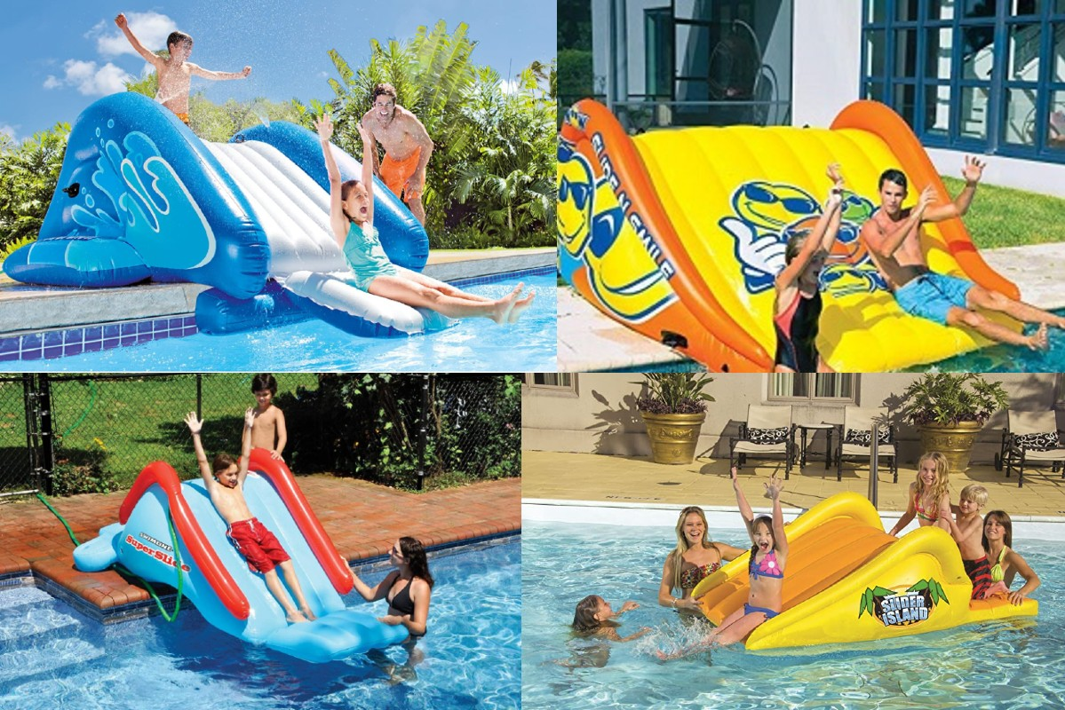 Pool Slides For Above Ground Pools Top Slides Reviewed For 2021 Own The Pool
