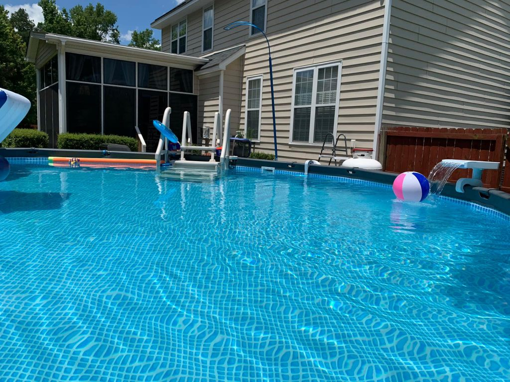 what is the biggest intex pool