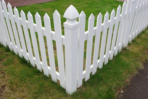 vinyl fence photo