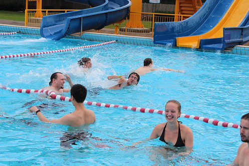 best swimming pool games for adults