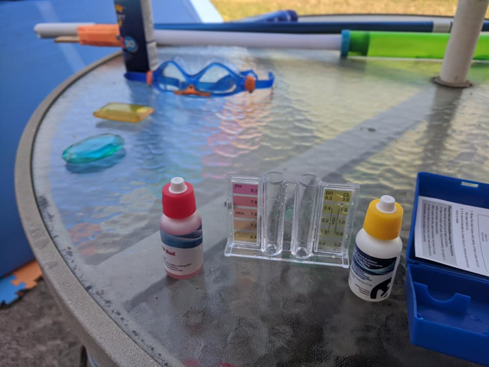 winter pool chemical for closing an intex pooll