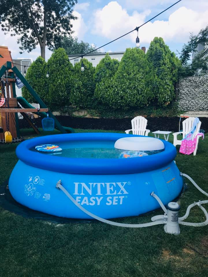 how to store an inflatable pool
