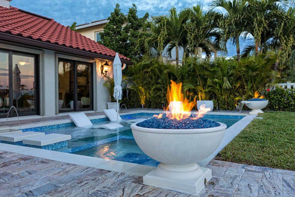 best pool fire bowls