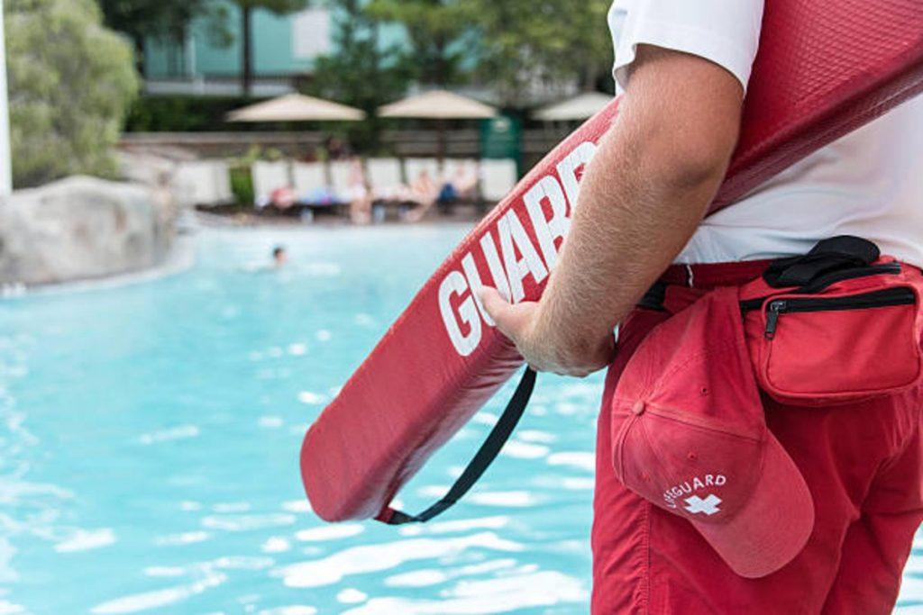 swimming pool lifeguard